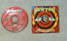 "CD AUDIO MUSIQUE / NEWTON ""STREAMLINE"" CD SINGLE 2T 1996 CNR MUSIC FRANCE"