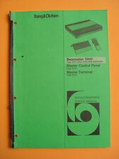 Bang & Olufsen Beomaster 5000 Service Manual