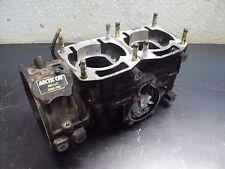 1991 91 ARCTIC CAT EXT 550 SNOWMOBILE MOTOR ENGINE CRANKCASE CASES CASE CRANK