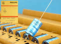 47uF 250V PHILIPS * LOT OF 10 * Electrolytic Axial Capacitors