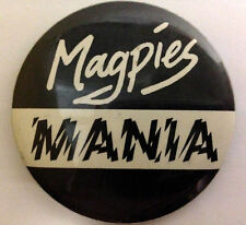 Collectable VFL Collingwood Magpies badge button pin *Magpies Mania*