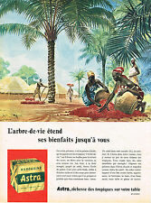 PUBLICITE ADVERTISING 064  1958  ASTRA  margarine  ARBRE-DE-VIE