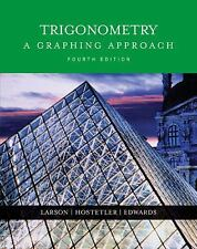 Back To School New Hardback Trigonometry A Graphing Approach Larson Textbook
