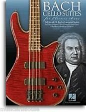 Bach Cello Suites For Electric Bass Learn Play Classical GUITAR TAB MUSIC BOOK