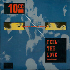 "10 CC [Ten c.c. 10cc] Feel The Love (Oomachasaooma) UK 45 7"" sgl +Picture Sleeve"