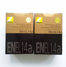 2x EN-EL14a Battery For Nikon Coolpix P7000 P7100 P7700 P7800 D5100 D5300 D5200