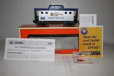 LIONEL #6-19774 LRRC RAILROAD CLUB 1999 PORTHOLE CABOOSE, EXCELLENT, BOXED