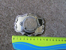 UNITED States of America One Dollar Coin Shiny METAL Belt Buckle SEE PICTURES