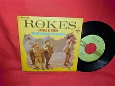 THE ROKES Eccola di nuovo 45rpm 7' + PS 1967 ITALY EX+ MOGOL