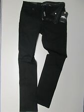 "ATTICUS- WOMENS 26"" CAVERN 2 BLACK JEANS- STRAIGHT LEG NEW (Blink 182 Muse) 6"
