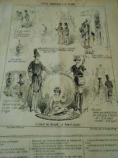 Litho 1967 - Pèle mèle dessins L'amour des diamants ou Perle et coquilles