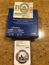 2016 CHINA PANDA S10Y 120TH ANNIVERSARY SHENYANG MINT NGC MS70 PERFECT!!