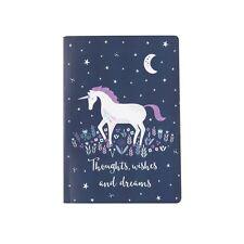 Nuevo Unicornio pensamientos deseos y sueños A5 Sass and Belle portátil del libro en rústica