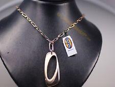 FOSSIL Damen Kette JF83946  Box lang tragbare Edeltahl Halskette  Anhänger s NEU