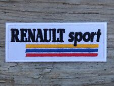 ECUSSON PATCH THERMOCOLLANT aufnaher toppa RENAULT SPORT automobile course f1