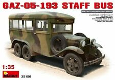 Gaz-05-193 Staff Bus Plastic Kit 1:35 Model MINIART