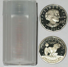 1980 S $1 Proof Susan B. Anthony Dollar Roll 20 Coins Deep Cameo