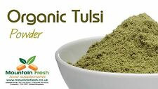 Organic Tulsi Powder - Holy Basil - Indian Superfood Supplement 25g FREE UK Post