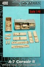 Aires 1/48  A-7 Corsair II Wheel Bays for Hasegawa kit # 4202