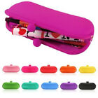 Rubber Silicone Pouch Purse Wallet Glasses Cellphone Cosmetic Coin Bag Gift PRO