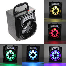 Outdoor Portable Bluetooth Speaker Super Bass Subwoofer + USB/TF/AUX/FM Radio