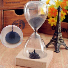 Awaglass Hand-blown Timer Magnet / Magnetic Hourglass Vintage Designer Gift Toy