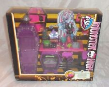 MONSTER High Home ICK CLASSE Abbey Bominable RARO Playset Scuola Classe 2013