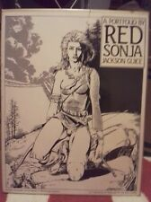 A Portfolio Of Red Sonja by Jackson Guice!