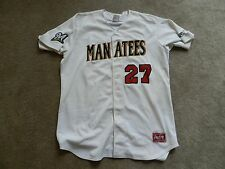 2016 Brevard County Manatees Game Used Jersey #27 Stephen Peterson Brewers