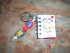 Tinker Toy Novelty Key Chain -  JUGGLING BALLS AND BOOK