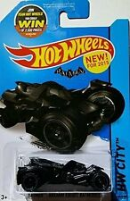 2015 Hot Wheels | Batman | Arkham Knight Batmobile (Black)