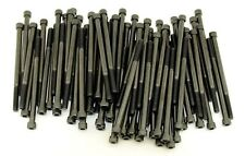(50) Socket Head 1/4-20 x 4 Cap Screws Black SHCS Allen Bolt