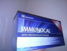 BEST DEAL!! VERY LOW PRICE! IMMUNOCAL REGULAR WHEY PROTEIN - 30 POUCHES - SEALED