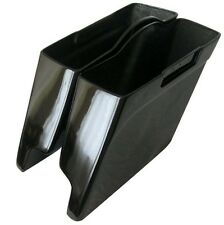 "HARLEY DAVIDSON STRETCHED SADDLEBAGS - 4"" EXTENDED FIBERGLASS FITS 93 TO 2013 **"