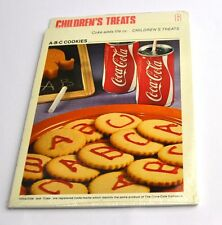 Coca Cola Coke Cooking recipes Recipe Block Cards USA 1970s No. 6 A-B-C Cookies