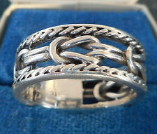 VINTAGE! RARE!! GERMAN STERLING SILVER MARINER RING