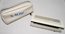 X-RITE 334 SENSISTOMETER DUAL COLOR EXPOSURE PORTABLE + CASE XRITE