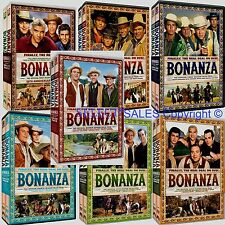 BONANZA SEASONS Complete ALL SEVEN SEASONS SET New (1 2 3 4 5 6 7) 62 DVD Sealed