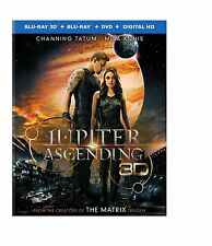 Jupiter Ascending 3D (used) Blu-ray ** No Cover Art, No case