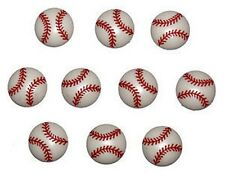 12 Baseball Sewing Crafting Buttons