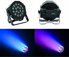 Faro LED multicolor,strobo,fasci di luce colorata a ritmo di musica.DMX512 slave