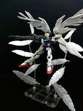 Detail Up Parts For RG 1/144 Wing Gundam Zero Custom  Effect feather Plastic
