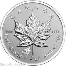 WOLF PRIVY -2016 1 oz Canadian Silver Maple Leaf Reverse Proof Coin * IN STOCK *