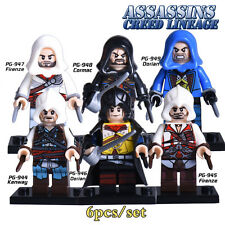 Assasins Creed - minifigures LEGO - Ezio, Connor.