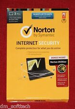 (Brand NEW Sealed Box) Norton Internet Security with Norton Utilities 3PC, 1Year