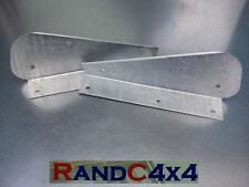 DA1187 Land Rover Defender 90 Galvanized Rear Mud Flap Brackets Pair