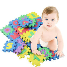 36pcs Baby Kid Alphanumeric Education Puzzle Block Infant Develop Child Toy Gift