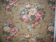 """Moda ~ 1 Yard ~ Bed of Roses by Robyn Pandolph ~ BTY ~ 54"""" Fabric ~ OOP 3600-23"""