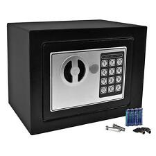 Safe Digital Electronic Key Pad Lock Cash Box Home Security Heavy Duty Steel New