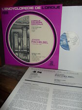 PACHELBEL: 13 organ pieces=Orgel=orgue  M-C Alain / Erato EDO 248 France stereo